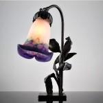 vintage 1910s french francois carion wrought iron art nouveau table lamp