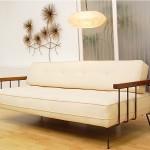 vintage mid-century danish modern daybed sofa