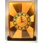 vintage art deco telechron modernique clock designed by paul frankl z