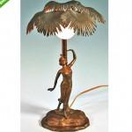 vintage austrian art deco arabaian lamp z