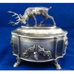vintage russian sterling silver sugar box z
