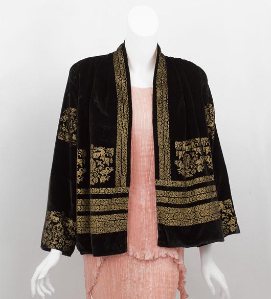 vintage 1930s fortuny stenciled jacket