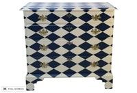 antique hand-painted dresser