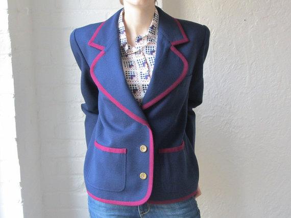 vintage YSL blazer