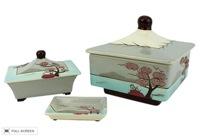 vintage 1940s weil ware dresser box set