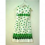 vintage 1960s alex coleman day dress