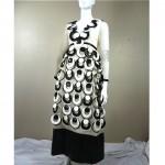 vintage 1960s lisa meril custom evening gown