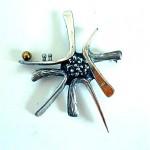 vintage mid-century gilles vidal brooch