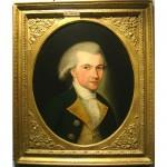 antique 18th century oil portrait