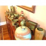 collection of ada frankoma pottery