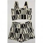 vintage 1950s bathing suit