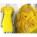 vintage 1960s embellished dress