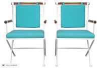 vintage 1970s cleo baldon refinished chairs