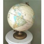 vintage 1970s crams imperial large world desk globe