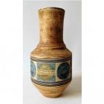vintage 1970s simone kilburn for troika pottery vase
