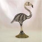 vintage abraham palatnik lucite flamingo