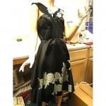 vintage 1950s handpainted betty higgins hawaiian dress