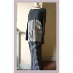 vintage 1960s jean muir cashmere maxi dress