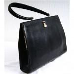 vintage 1960s lizard skin handbag z