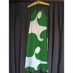 vintage 1970s marimekko cotton jersey maxi dress z
