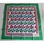 vintage deadstock lanvin silk scarf