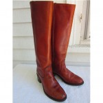 vintage frye tall campus boots