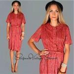 vintage mid-century day dress