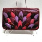 vintage oleg cassini snakeskin handbag z