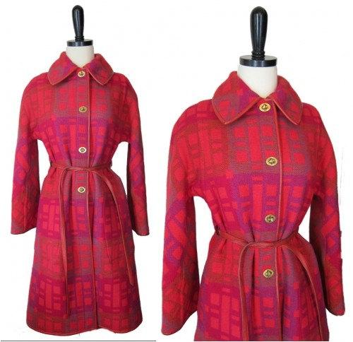vintage bonnie cashin coat