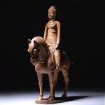 ancient chinese horse and rider