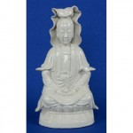 antique chinese porcelain blanc de chine buddha