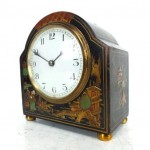 antique french chinoiserie mantel clock