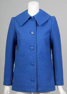 vintage 1970s ysl wool coat