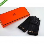 pre-owned hermes gloves with box