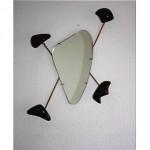 vintage 1960s georges jouve mirror