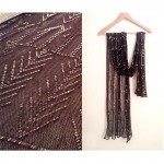 vintage 1920s assuit scarf shawl