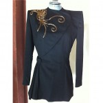 vintage 1940s edith small beaded wool jacket