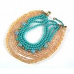 vintage 1950s miriam haskell necklace