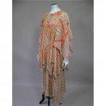 vintage 1960s jeff banks maxi dress