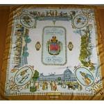vintage 1962 hermes silk scarf