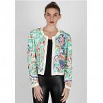 vintage 1980 pastel silk sequin blazer