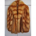vintage 1980s canadian red fox jacket