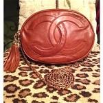 vintage 1980s chanel shoulder bag