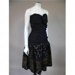 vintage 1980s zandra rhodes party dress