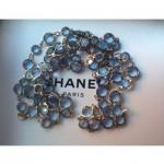 vintage 1981 chanel crystal necklace