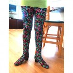 vintage all-in-one shoe pants