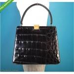 vintage bellestone crocodile handbag