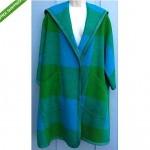 vintage bonnie cashin for sills suede trim coat