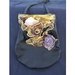 vintage carvalho brutalist handbag