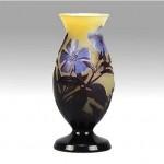 vintage emile galle cameo vase